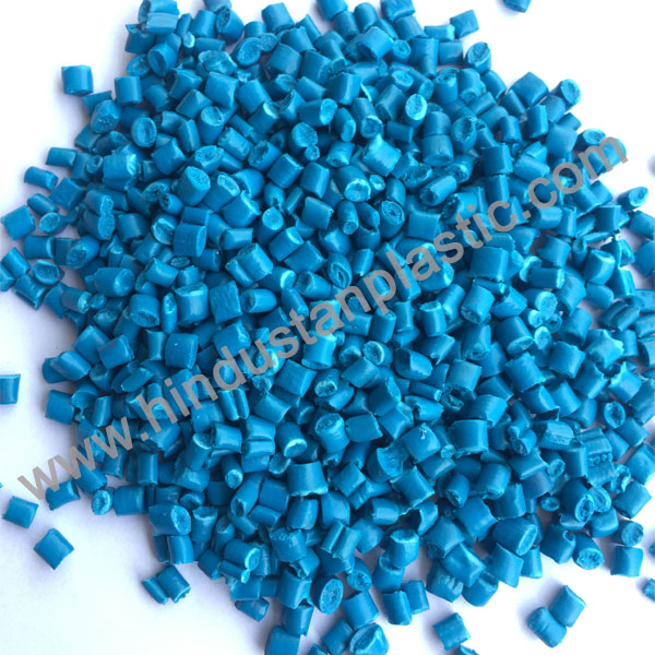 Sky Blue PP Granules In Rai